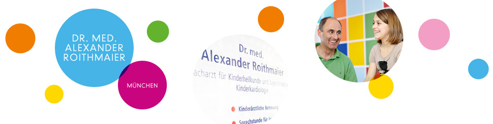 Headerbild Kontakt | Kinderkardiologie München, Dr. Roithmaier